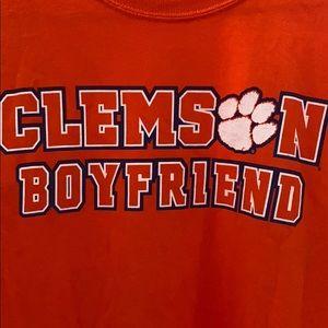 Barely worn. Clemson Boyfriend T-shirt.